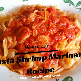 Pasta Shrimp Marinara.