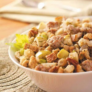 Slow-Cooked Sausage Dressing.