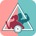 Fitness app Fysta - Weight-loss and Training icon