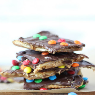 Peanut Butter Saltine Toffee Recipe