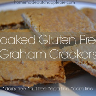 Soaked Gluten Free Graham Crackers