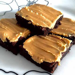 Gluten Free Peanut Butter Brownies.
