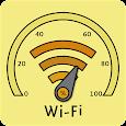 WiFi signal strength meter
