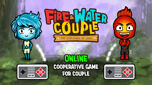 Fire and Water: Online co-op game for boy and girl ss1