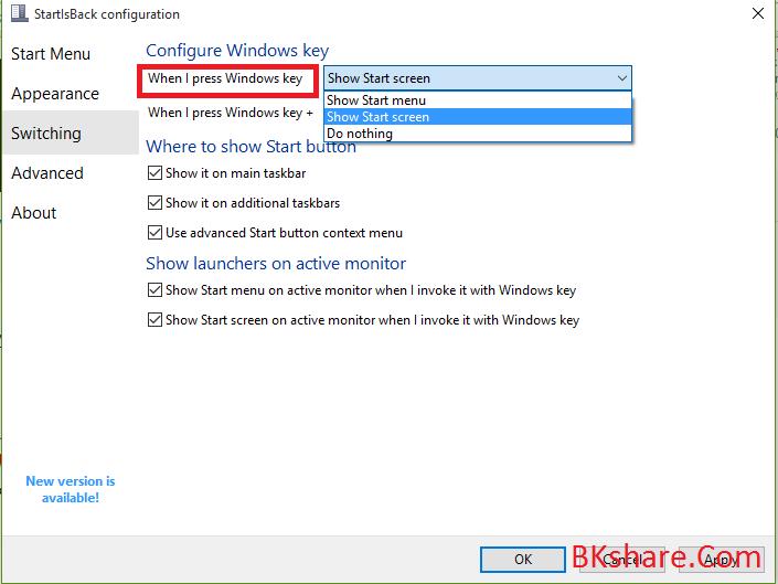 Hướng dẫn tạo taskbar trong suốt trên Windows 10