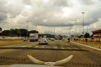 Photo: Avenue in Yamoussoukro