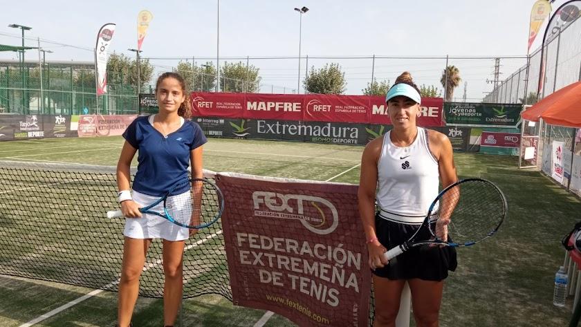 María Dolores sigue creciendo en el tenis internacional.