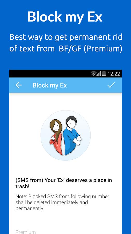 SMS Blocker. Clean Inbox- screenshot