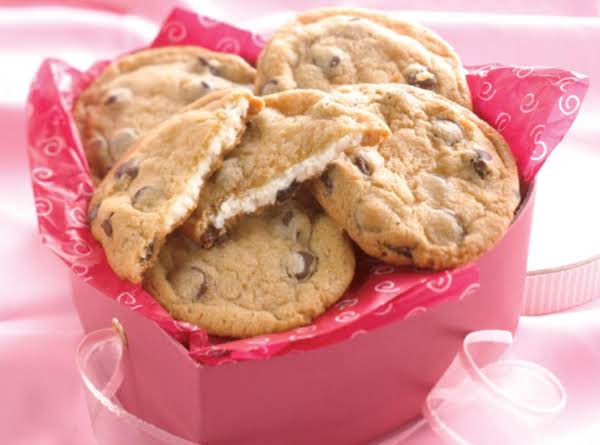 Cream Cheese Filled Chocolate Chip Cookies Recipe
