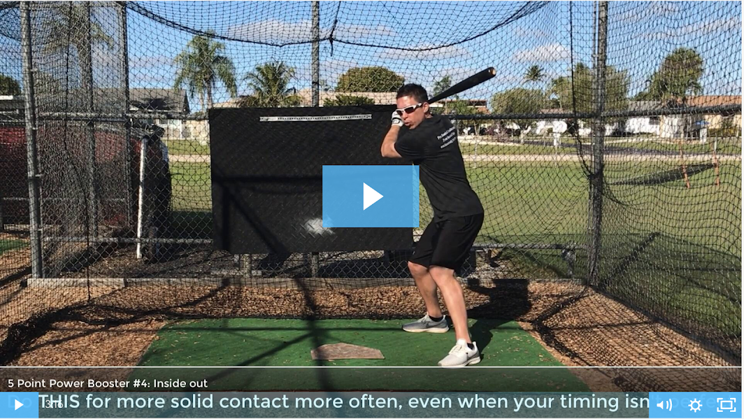 How to hit a baseball further with more power - Video number 4