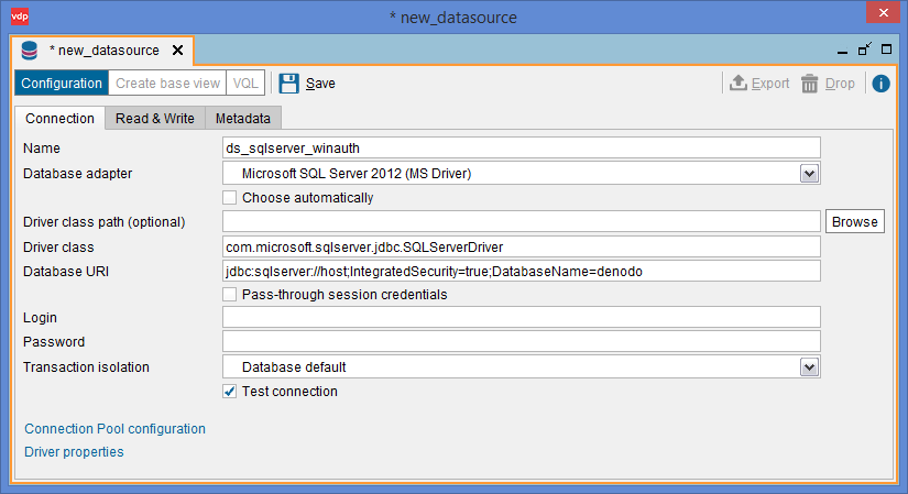 Accessing MS SQL Server using Windows Authentication_bey2nd_新浪博客