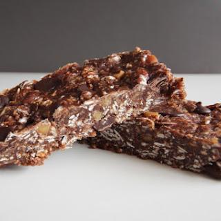 Double Chocolate Coconut Energy Bar.