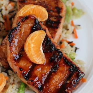 Sweet Chili-Orange Grilled Pork Chops