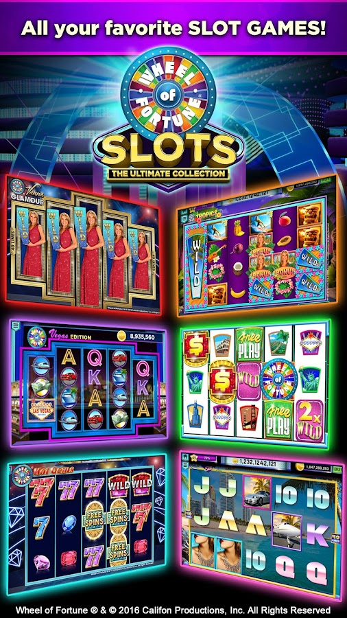 Free Wheel Of Fortune Slots For Fun