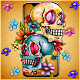 Flower Smoke Skull Theme Apk