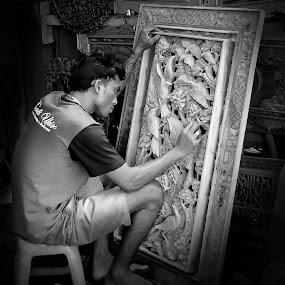 Finishing Touch by Hatdy Tridjaja - City,  Street & Park  Markets & Shops