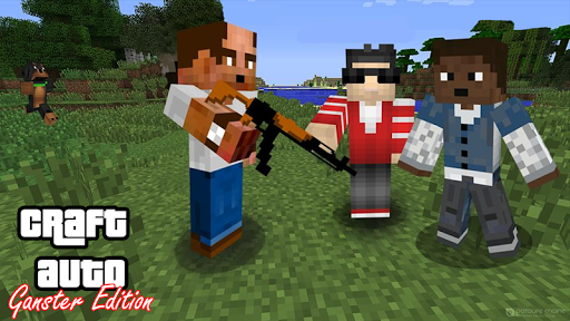 Craft Theft Auto Mod for MCPE 1.0 screenshots 3
