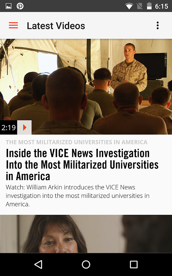 VICE News- screenshot
