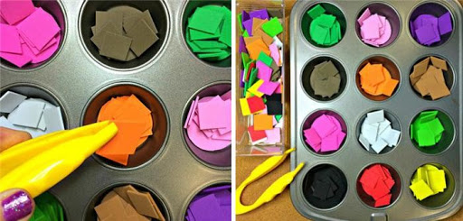 nhận biết được các màu sắc