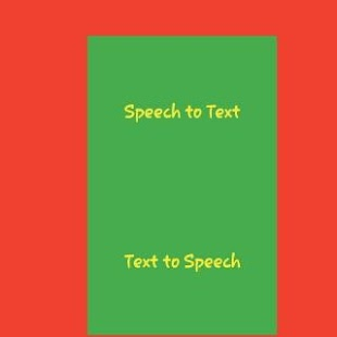 Text to Speech Plus Speech to Text - náhled