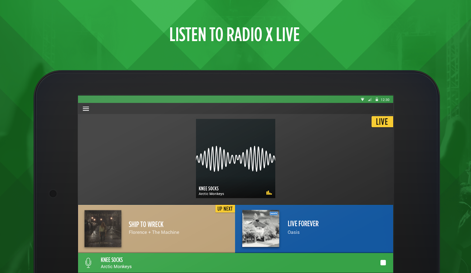 Radio X- screenshot