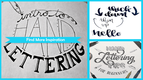 Hand Lettering for Beginners - náhled