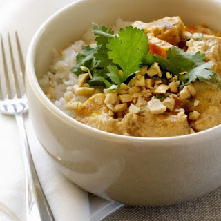Peanut and Tofu Curry.