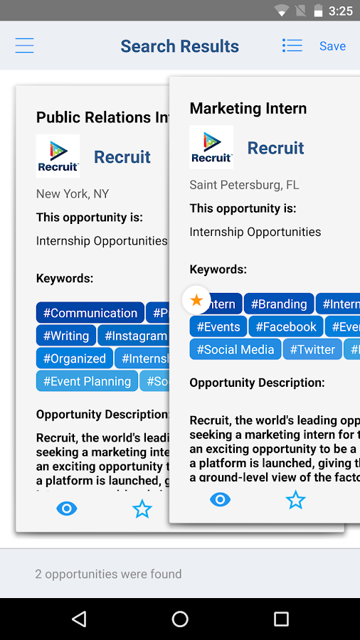 Recruit Job Search- screenshot