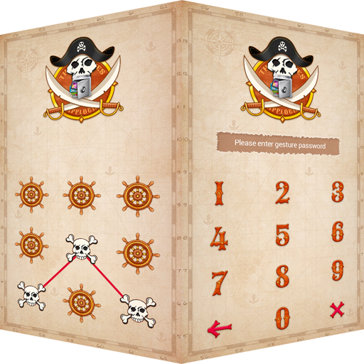 AppLock Theme Pirate