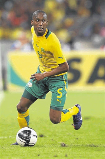 TRICKY DRAW: Bafana Bafana and Genk's Anele Ngcongca. Photo: Gallo Images