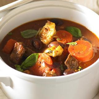 Hearty Italian Beef Casserole.