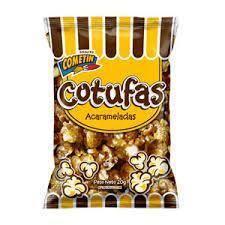 Snack Cometin Cotufa Acaramelada 20Gr