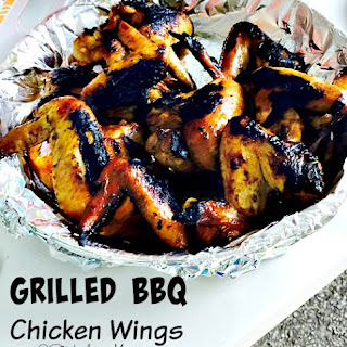 Grilled BBQ Chicken Wings
