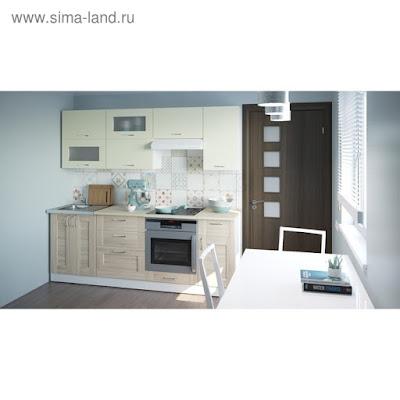 Кухонный гарнитур Камилла компакт 2200