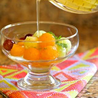 Melon with Daiquiri Syrup.