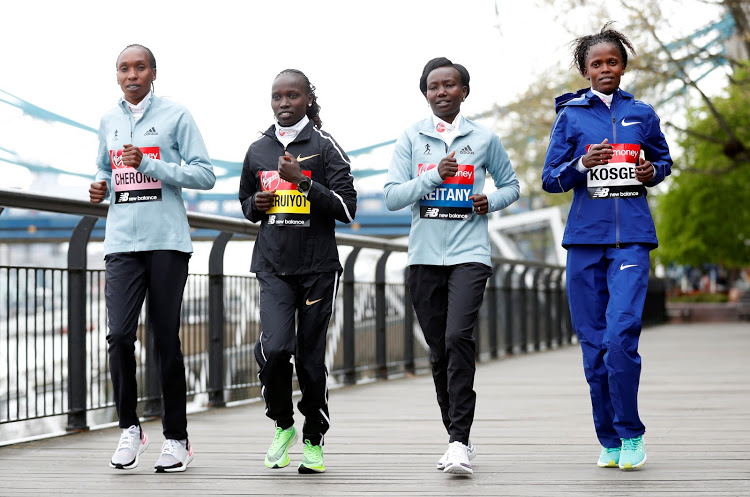 Cheruiyot stands in way of fourth London title for Keitany