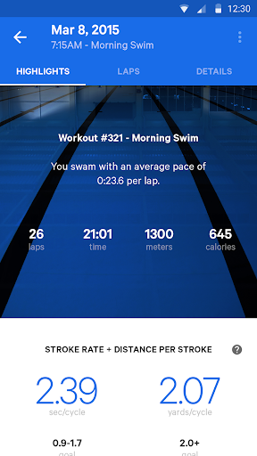 Moov Swim Coaching + Tracking