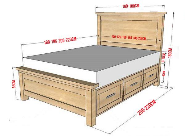 Giường ngủ cao bao nhiêu là phù hợp?