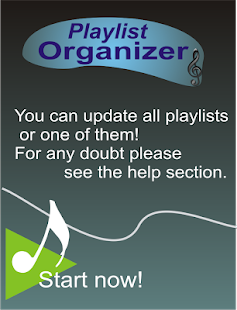 Playlist Organizer- screenshot thumbnail