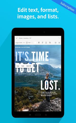 Adobe Acrobat Reader: PDF Viewer, Editor & Creator screenshot 21