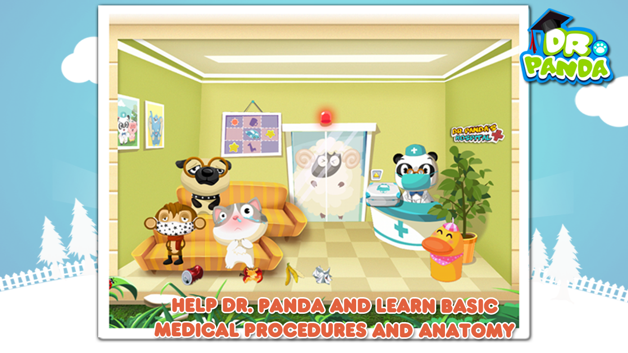 Dr. Panda Hospital- screenshot