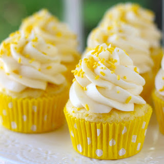 Lemon Cream Cheese Cupcakes