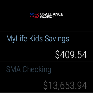 USALLIANCE Mobile Banking- screenshot