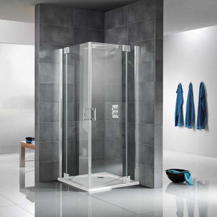 Shower Cabins_04 K2P Eckeinstieg, 4-teilig