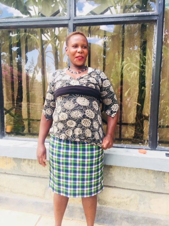 Teresia Wanjiru who was killed by her husband on Monday night
