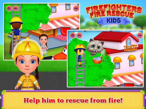 Firefighters Fire Rescue Kids  screenshots 7