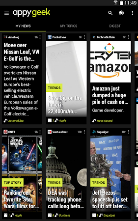 """Appy Geek -€"""" Tech news 5.1.3 screenshot 50240"""