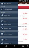 Screenshot of Price Chopper