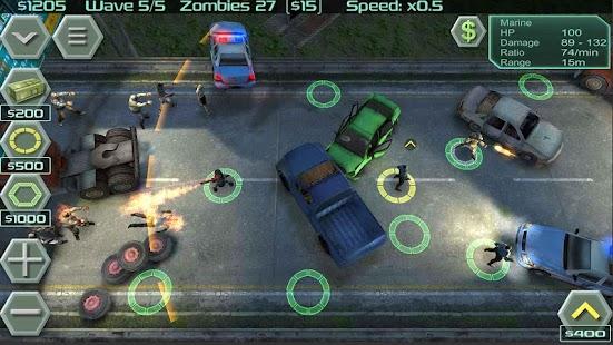ゾンビ防衛 Screenshot