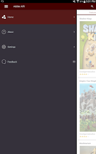 Adobe AIR – Miniaturansicht des Screenshots